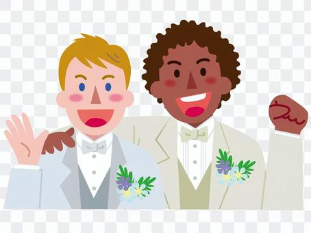 男性同士の同性婚-4