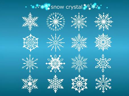 Snow crystal 04