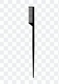 Eyebrow brush