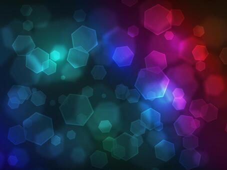 六角形的光·黑暗的彩虹
