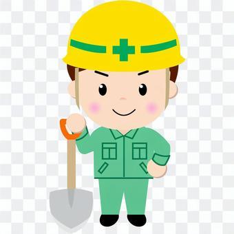 Construction worker (scoop 2)