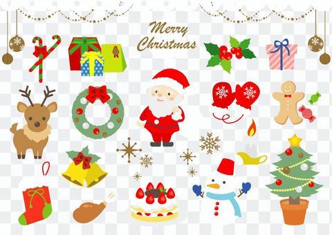 花式聖誕套