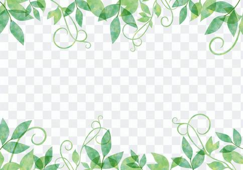 Fresh green _ pastel frame