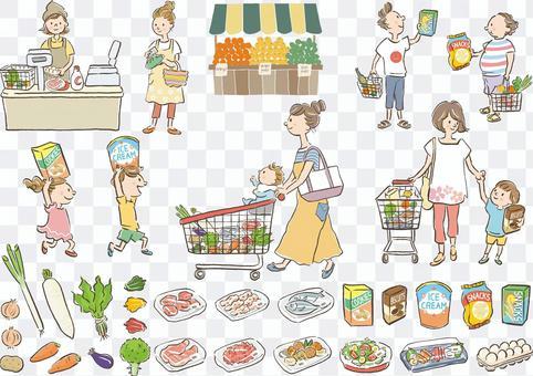 超市人食品