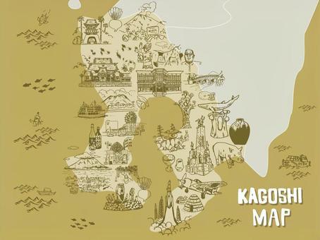 鹿兒島地圖