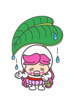 下雨天不好看的女孩