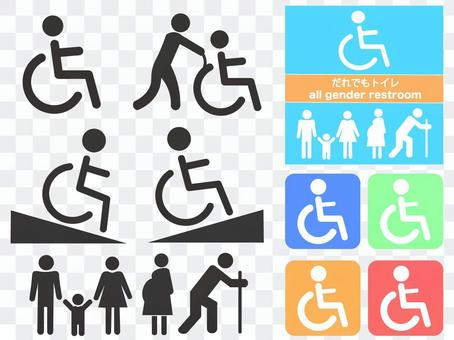 Various wheel chairs