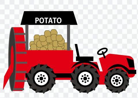 土豆收割机