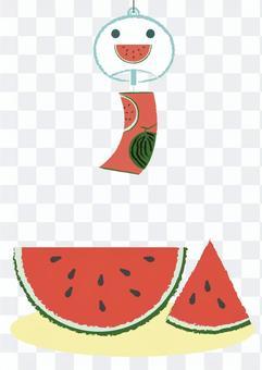 summer_watermelon和風鈴1