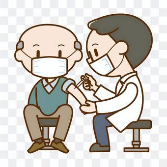 老人要接種疫苗