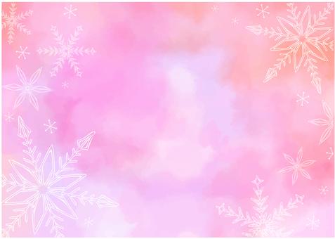 雪花 frame-2