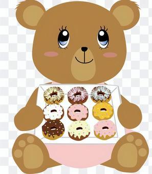 Donut_Deco _熊_可愛_動物5