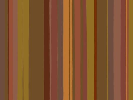 棕色不同寬度的手寫條紋