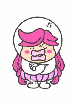沮喪的女孩