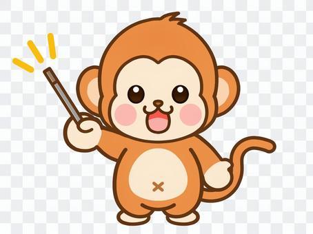 猴子的插圖素材