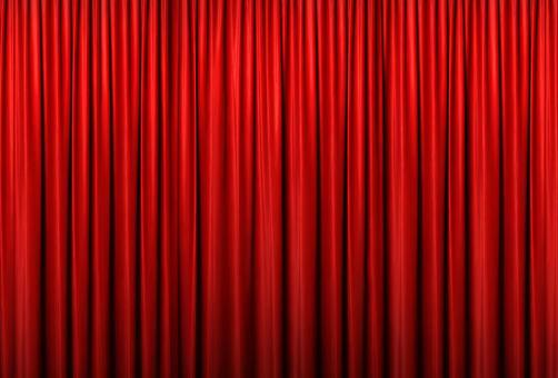Red curtain 06