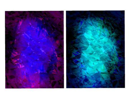 藍色和淺藍色閃光寶石紋理背景