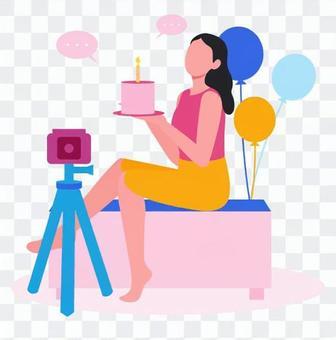 女發行人送生日
