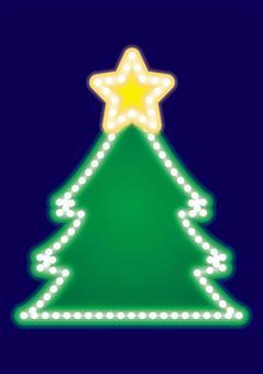 霓虹標誌·聖誕樹