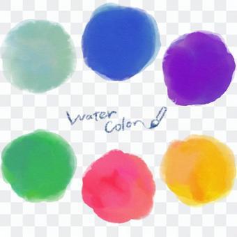 水彩顏料材料集