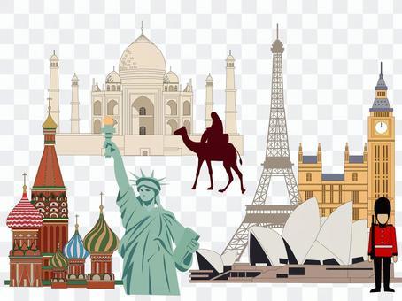 海外旅遊景點集