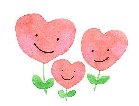Heart Flower Family