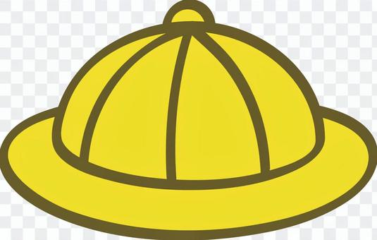 黃色學校帽子