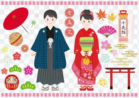 Shichigo三种材料