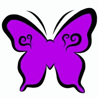 蝴蝶(粉紅色)