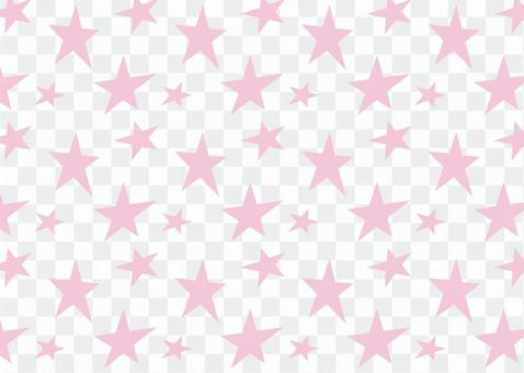 星形花紋粉紅色