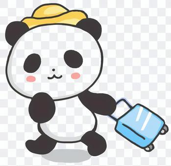 旅行パンダ2