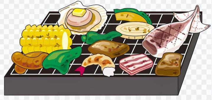 BBQ-B案具材色々