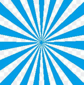 光芒四射的華而不實的簡單青色