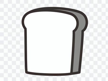 麵包麵包和白色