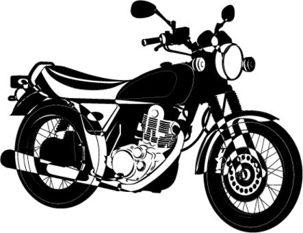 摩托車剪影