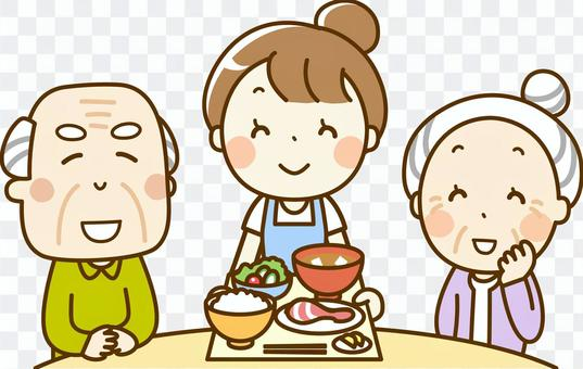 Dietary support for the elderly