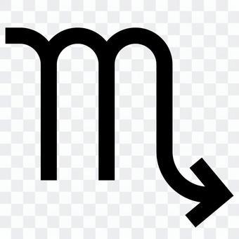 Scorpio mark icon
