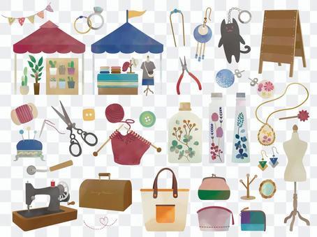 手工雜貨和工具/馬爾凱跳蚤市場