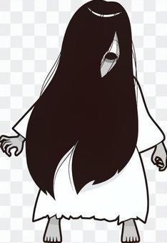 白色禮服的女人的精神