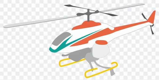 無線電遙控直升機農藥噴灑