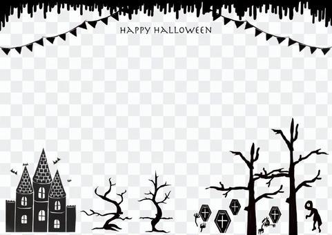 Halloween postcard communication etc. 2