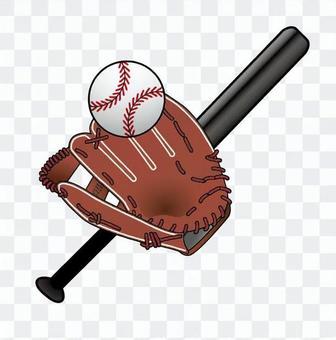 棒球裝備一套
