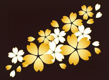 簡單的櫻桃樹 - 黃金