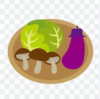 籃子主要蔬菜