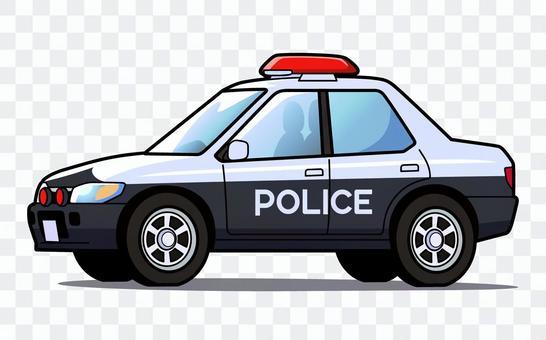 Police car - 001