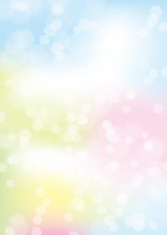 春光形象,背景,A4垂直,與油漆