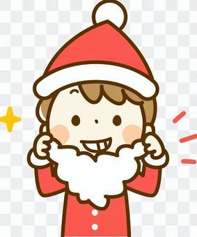 Boy in Santa