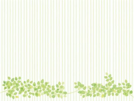 Plant background wallpaper watercolor wind