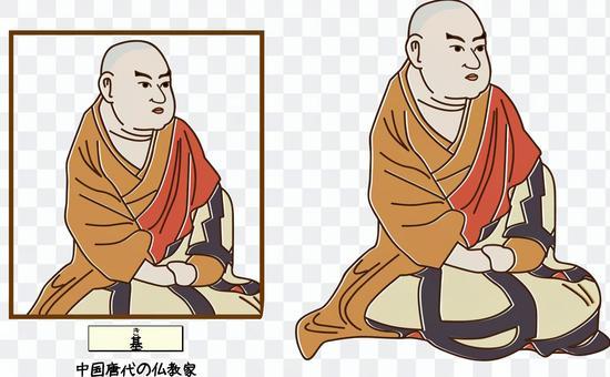 中國基礎唐代佛教古史