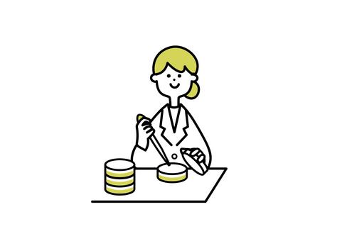文化工作中的女科學家